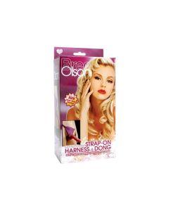 TLC® Bree Olson Glitter Strap-On 1003060