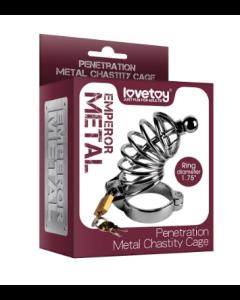 Penetración Chastity Chastity Metal - LV1675