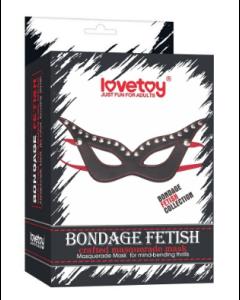 Bondage fetiche mascarada máscara - LV1651
