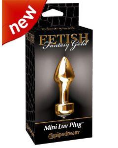 Fetish Fantasy Gold Mini Luv Plug - PD 3986-27