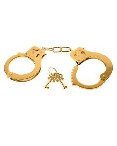 Fetish Fantasy Gold Metal Cuffs - PD 3987-27