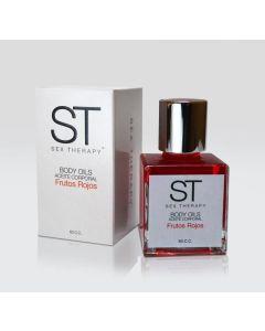 ST- Aceite Frutos rojos 30cc. Código:STA 01