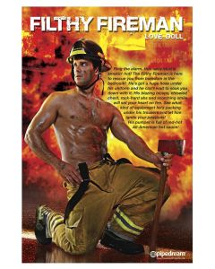 Filthy Fireman Love Doll - PD3581-00