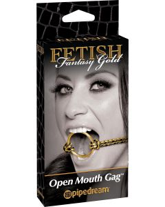 Fetish Fantasy Gold Open Mouth Gag - 3968-27