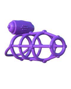 Fantasy C-Ringz Vibrating Climax Cage - 5810-12