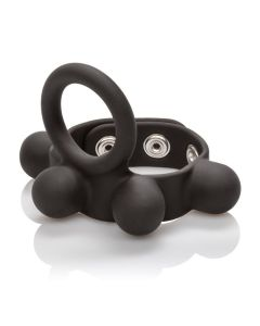 Medium Weighted C-Ring Ball Stretcher in Black - SE-1413-55