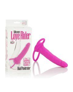Silicone Love Rider™ Dual Penetrators SE-1515-10