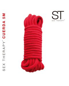 Cuerda roja 5 metros - BST-CR001A