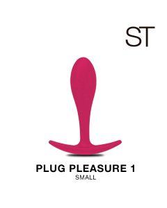 Plug pleasure 1 - BY17-147 FUCSIA