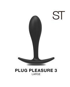 Plug pleasure 3 - BY17-148 BLACK