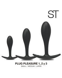 PLUG pleasure 1.2 y 3 - KIT BY17-1001 BLACK