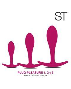 PLUG pleasure 1.2 y 3 - KIT BY17-1000 FUCSIA