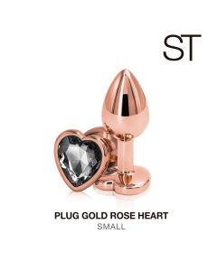 rose gold plug Small - M003-S ROSE GOLD